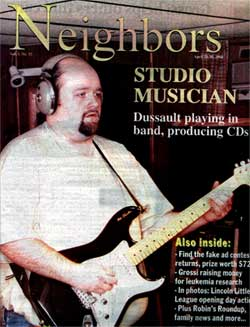 George On The Cover of Neighbors